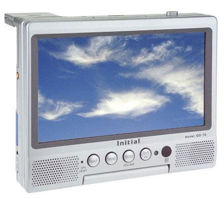 Initial GD-70X - 7-inch TFT LCD CD/DVD Navigational System