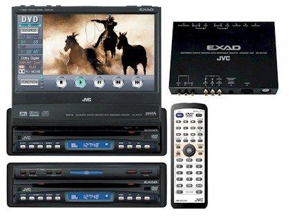JVC KD-AV7010 DVD Multimedia Center - Easy touch panel operation controls DVD menus, CD tracks, and