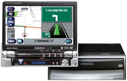 Kenwoods P-NAV815 Complete Mobile Entertainment & Navigation Package