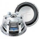 "Audiobahn ALUM12N 12"" Sound Q Chrome Aluminum Cone Epdm Dual 6 Ohm 1000 Watts RMS"