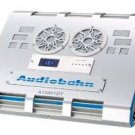 AUDIOBAHN A12001DT - CLASS D 1 x 400 WATTS RMS W/ BLUE DIGITAL VOLT METER & FLAMES