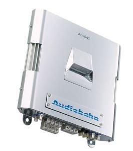 AUDIOBAHN A6004T - MODULAR A/B MOSFET INTAKE AMPLIFIER 4 X 75 WATTS RMS