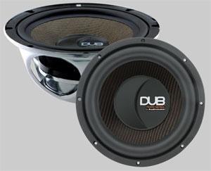 "Audiobahn DUB200 12"" 500W Dub Series Subwoofers (Set of 2)"