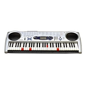 Casio LK-43 61 Key Full-Size Keyboard with Lighted Keys