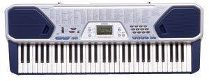 Casio CTK-491 61 Key Full-Size Keyboard with Sing Along Mic Input