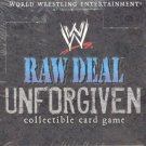 Raw Deal Unforgiven Booster Box Sealed 36 packs