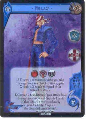 UFS Billy Foil Promo Card SNK2P....02/17
