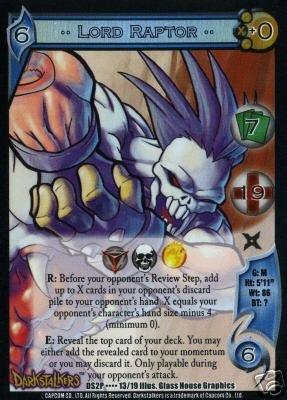UFS Lord Raptor Foil Promo Card DS2P....13/19