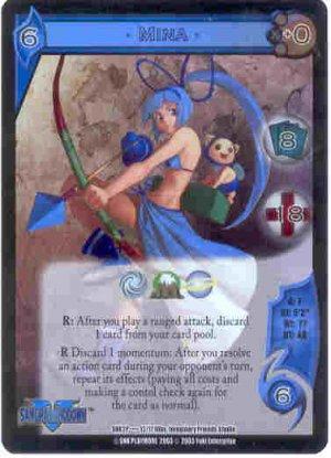 UFS Mina Foil Promo Card SNK2P....12/17