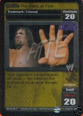 Raw Deal The Hand of Fate Foil Ultra-rare