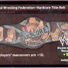 Raw Deal Hardcore Foil Title Belt