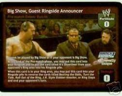 Raw Deal Big Show Guest Ringside Announcer Foil