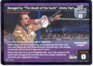 Raw Deal Managed by Jimmy Hart Foil 19/TK