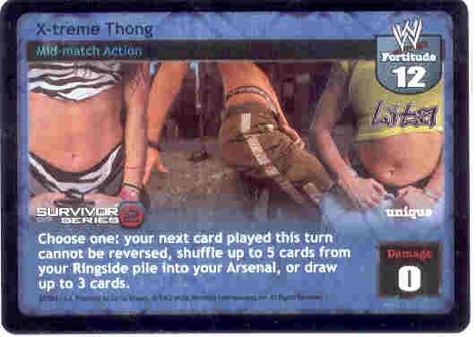 Raw Deal X-treme Thong Ultra-rare Foil SS2