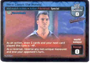 Raw Deal Here Comes the Money TB Ulra-rare Foil