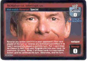 Raw Deal McMahon-us Interrupt-us Ultra-rare Foil