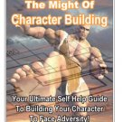 The Might of Character Building - eBook