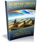 Purpose Driven Business Models - eBook