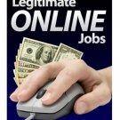Legitimate Online Jobs - eBook Guide