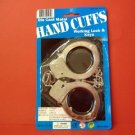 DIE CAST METAL HAND CUFFS WITH KEYS FUN PARTY GIFTS TOYS