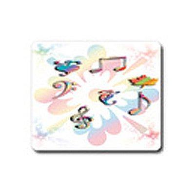 Musical love mouse pad