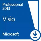 Read carefully!! Visio Professional 2013 32 & 64 bits Full Retail  1 pc