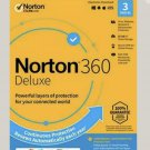 Norton 360 Standard Plus(Deluxe) with VPN 1 yr 3 devices