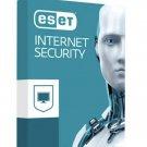 Antivirus Eset Internet Security 1 year 3 pc .. Read!!