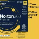 Sale OFF! Read carefully! Antivirus Norton Security Premium 2 years 10 devices
