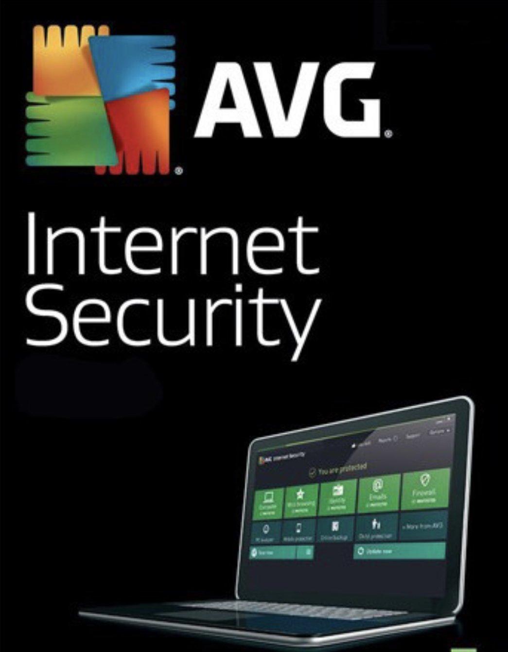 Read carefully AVG Antivirus Internet Security 1 year 1 pc