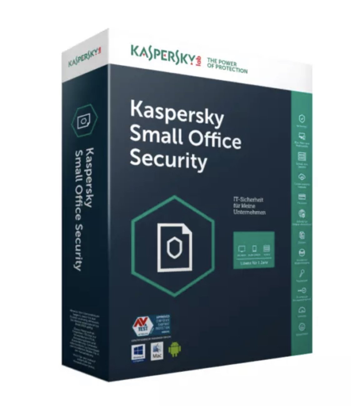 Read carefully! Antivirus Kaspersky Small Office Security 1 year 1 file server + 5 pc