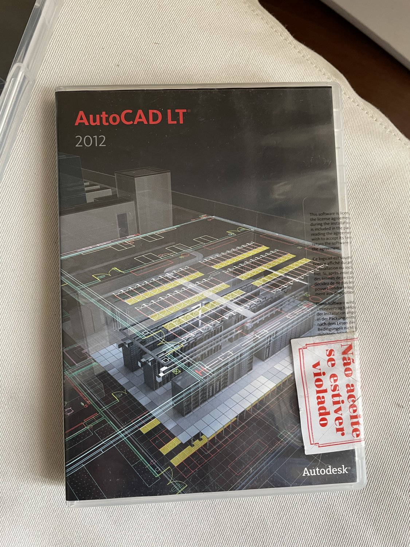 Autocad 2012 LT 1 seat
