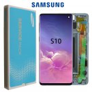 Original Display For SAMSUNG Galaxy S10 G973F/DS G973U G973 SM-G973 LCD Touch Screen Digitizer