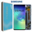 Original Super Amoled 6.4'' LCD Replacement for SAMSUNG Galaxy S10 Plus SM-G9750 G975F