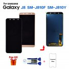 For Samsung Galaxy J8 J810 SM-J810F LCD Display Screen Replacement lcd module New Tested