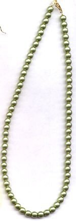 Glass Pearl Necklace Set - Custom Colors