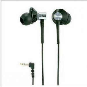 FREE SHIPPING -- BRAND NEW SONY EARPHONE MDR-EX85LP NOISE ISOATOIN BLACK EARPHONE
