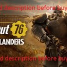 Fallout 76 [Read description before buying] Steam Global Activation PC