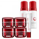Smooth Collagen 10X White Aura Defense Wrinkle Skin Moisturize Firming Aging Trylagina (pack of 4)