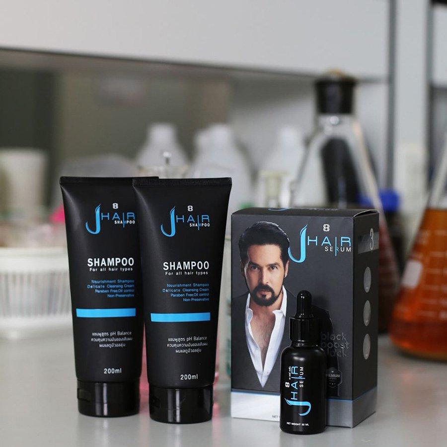 J-Hair Serum Grow Hair Regrowth Regrow Anti Hair Loss Hair ...
