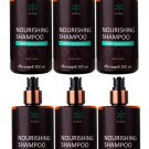 Helps Nurine strengthen Dandruff 300ml. Eliminate Hair Loss Hair Shampoo Nourishing (Pack of 6)