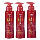 Herbs Thai Shampoo Fall Regrow 240ml Hair Korea Loss Kowbu Tonic Hair Stimulation (Pack of 3)