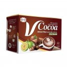 10 Boxes Vivi V Cocoa Mixed Fiber Powder Drink Delicious Weight Loss Diet Slim Digestive Firm