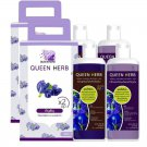 Premium Shampoo Care Long Butterfly Pea  Treatment Loss Set Hair Hair (Pack of 2) By Queen Herb