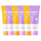 Set Soft Smooth Amice Lotion Body Body SPF 120ml. Sunscreen PA Cream All-Night All-Day (Pack of 6)
