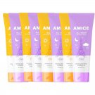 Body Smooth Lotion Cream All-Night Amice All-Day Sunscreen SPF50 Body PA++ 120ml. Soft (8 x 120ml)