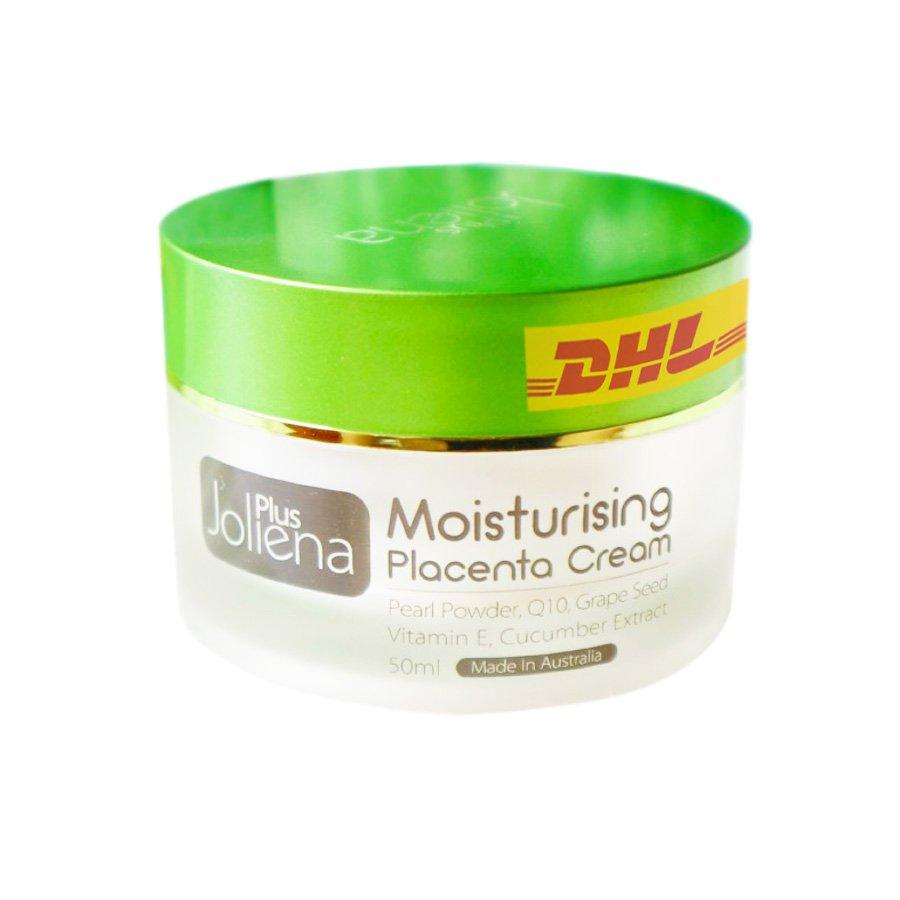Joliena Plus Moisturizing Placenta Cream Anti Aging Skincare Firming Brightening 50g.