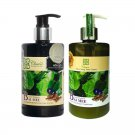 CHEWA BAI MEE SHAMPOO & CONDITIONER LITSEA GLUTINOSA BUTTERFLY PEA GINGER HAIR ROOT ANTI HAIR LOSS