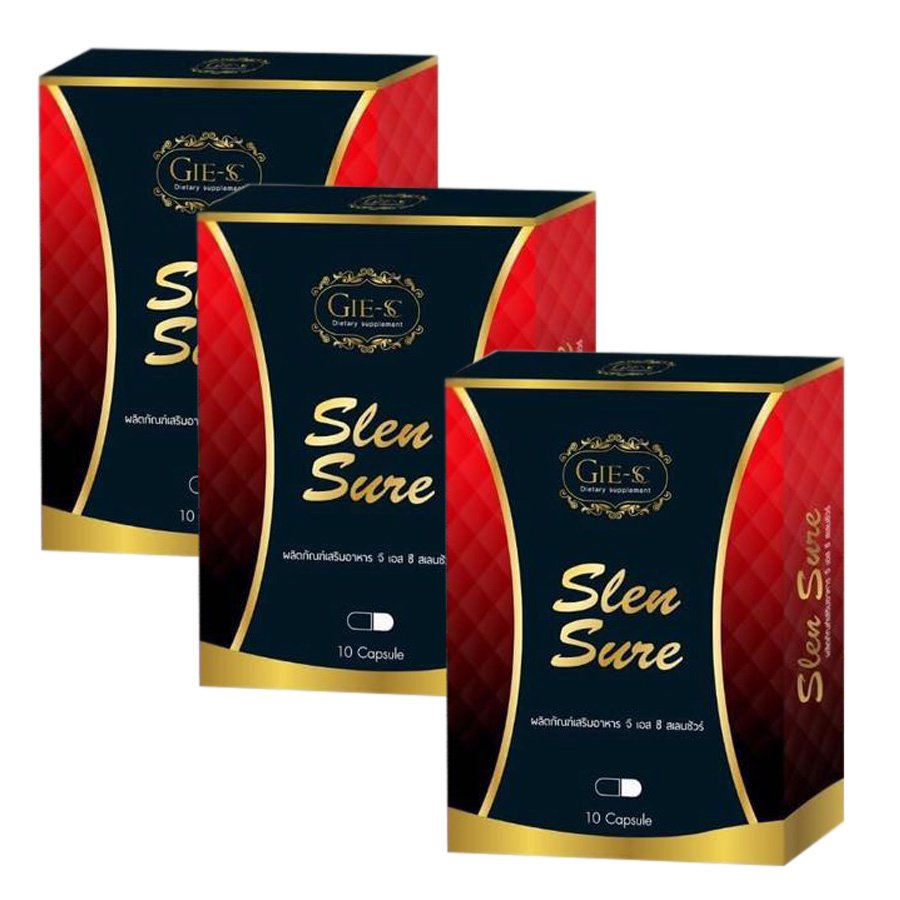 Slen Sure Weight Loss SureSuper Slim Weight Loss Formula Diet Herb Weight Management (Pack of 3)