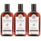 HERB MINISTRY TEA TREE OIL HERBAL SHAMPOO 250ML. NOURISH HEAD HAIR CARE OIL CONTROL (PACK OF 3)
